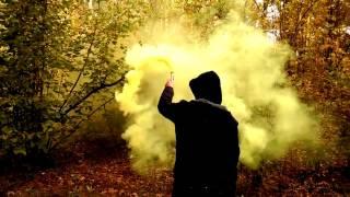 Цветной дымный факел желтий, синий, оранжевый, красный, зелёный   Colored smoke Maxsem MA 0511