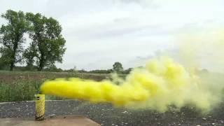 JFS-1 YELLOW - fontanna dymna żółta! Fajerwerki Jorge!
